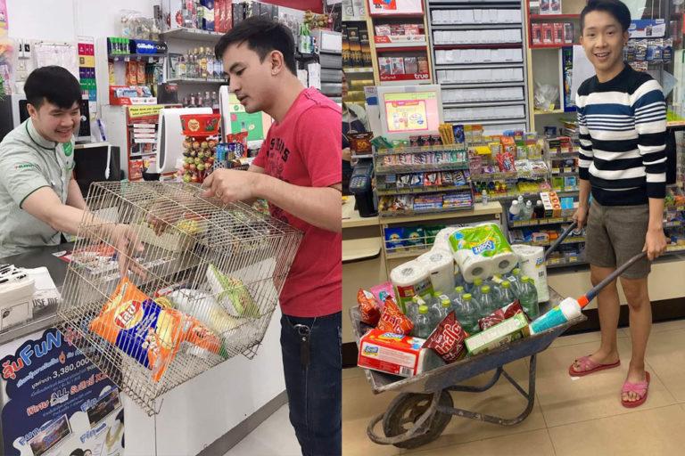 Thailand's Plastic Bag Ban Has Created a Viral Sensation of Unexpected Shopping Bag Alternatives