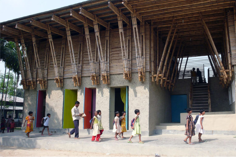 The Sustainable School in Bangladesh That Was Hand-Built by the Students