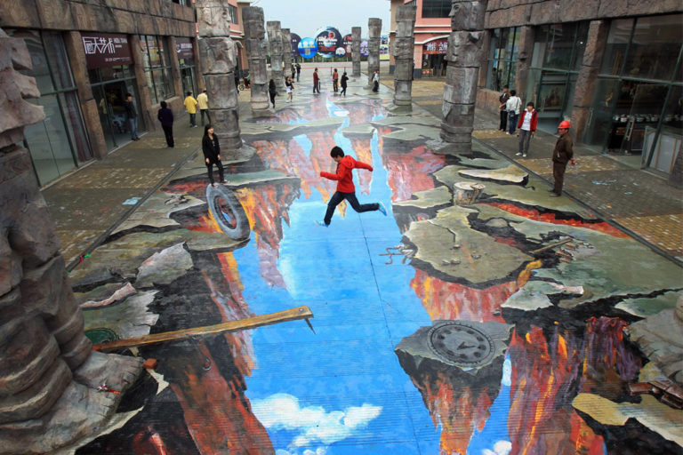 More Than Meets the Eye: Street Art Illusions That Look So Real They Will Make You Think Twice