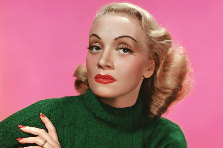 Colorized Photos of Old Hollywood's Greatest Beauties Reveal Them in All Their Glory