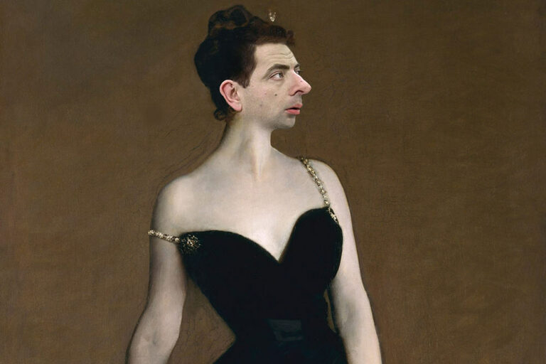 29+ Hilarious Photos of Stars Photoshopped Into Classical Art